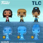 Funko Pop! Rocks: TLC - Left Eye, T-Boz and Chilli With Chase Variant Funko Pop! Vinyl Figures