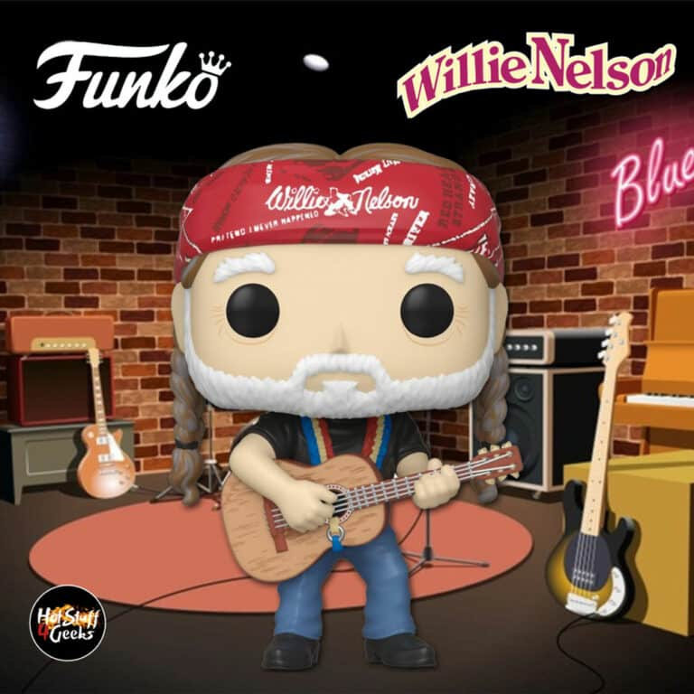 Funko Pop! Rocks: Willie Nelson Funko Pop! Vinyl Figure