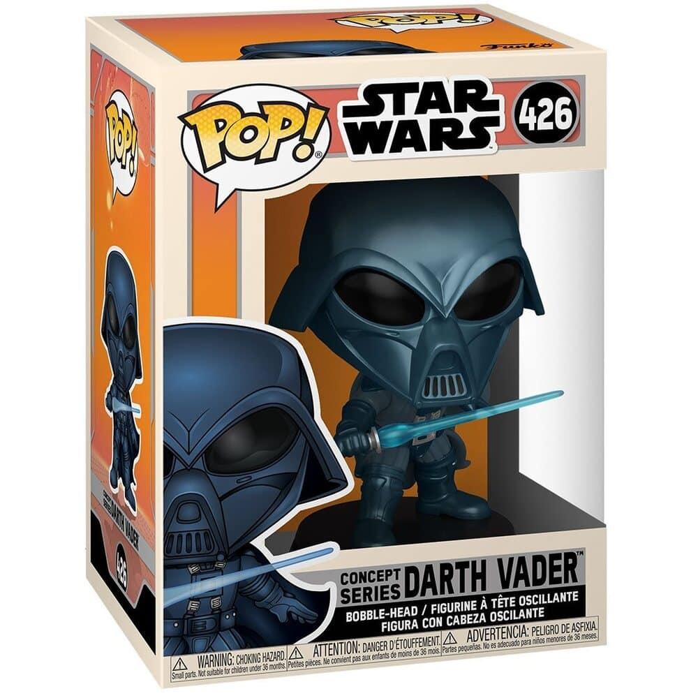 Funko Pop! Star Wars: Concept Series - Alternate Darth Vader Funko Pop! Vinyl Figure