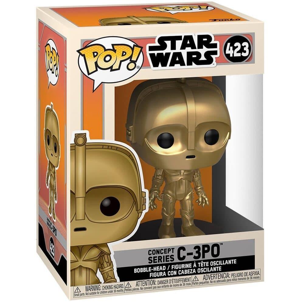 Funko Pop! Star Wars: Concept Series - C-3PO Funko Pop! Vinyl Figure