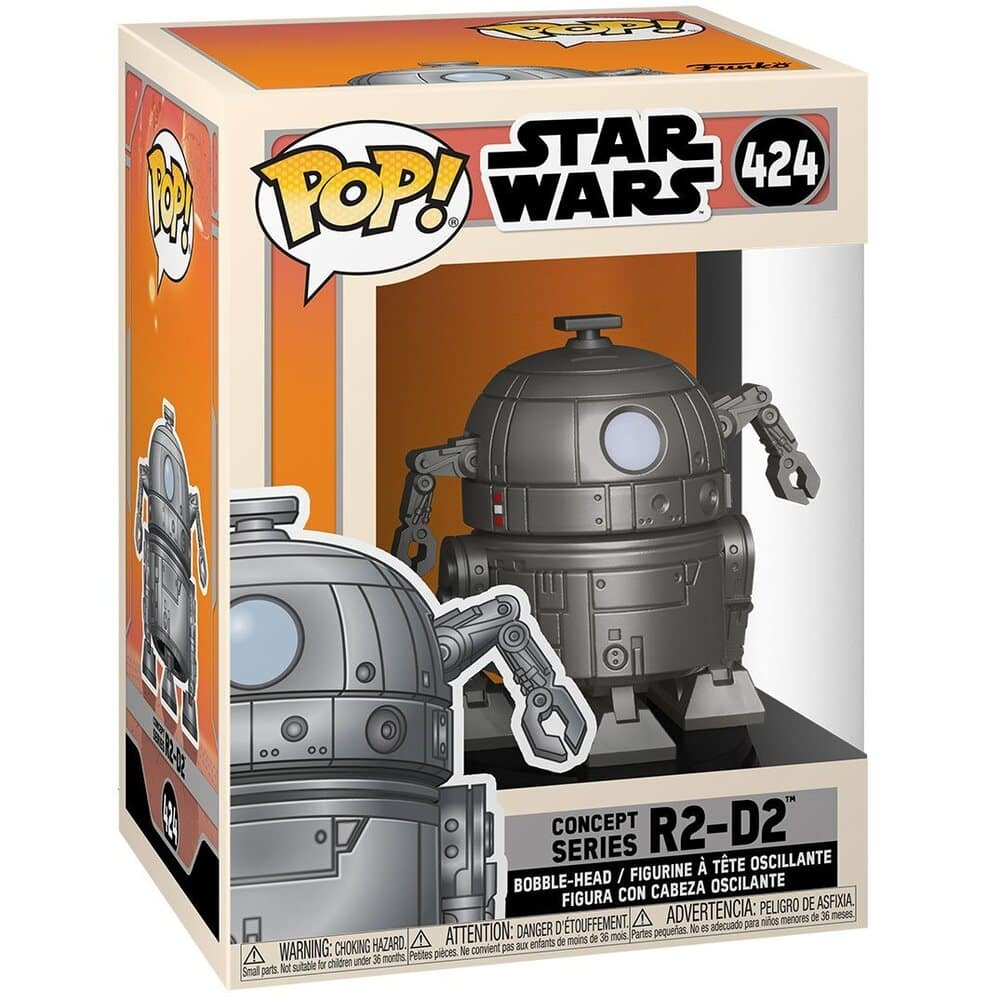 Funko Pop! Star Wars: Concept Series - R2-D2 Funko Pop! Vinyl Figure