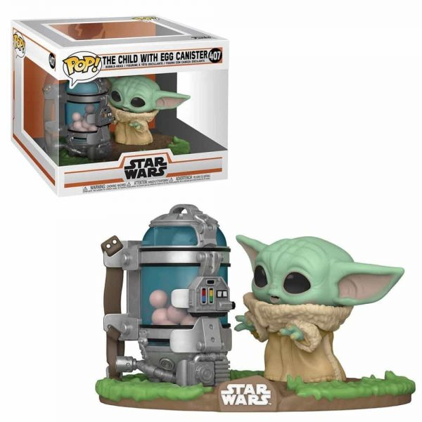 Funko Pop! Star Wars: The Mandalorian The Child with Egg Canister Deluxe Funko Pop Vinyl Figure