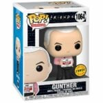 Funko Pop! Television: Friends - Gunther in Vest With Chase Variant Funko Pop! Vinyl Figure