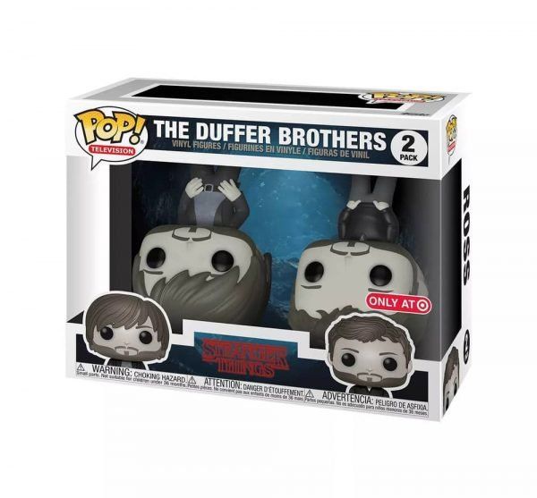 Funko Pop! Television: Stranger Things - The Duffer Brothers 2-Pack Funko Pop! Vinyl Figure - Target Exclusive