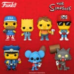 Funko Pop! Television: The Simpsons - Duffman, Itchy, Scratchy, Lard Lad 6-Inch, Chief Wiggum, Mafia Bart, Barney, USA Homer, Homer Watching TV, Sideshow Bob, Ralph Wiggum and Homer Simpson (Mr. Plow) Funko Pop! Vinyl Figures