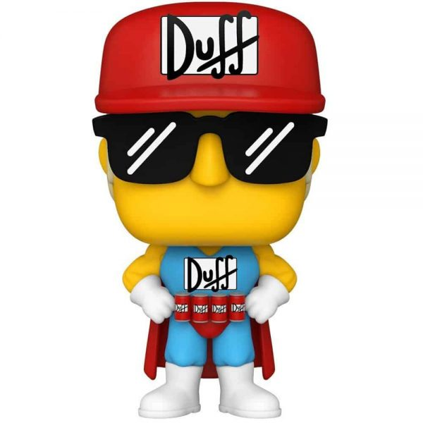 Funko Pop! Television: The Simpsons - Duffman Funko Pop! Vinyl Figure