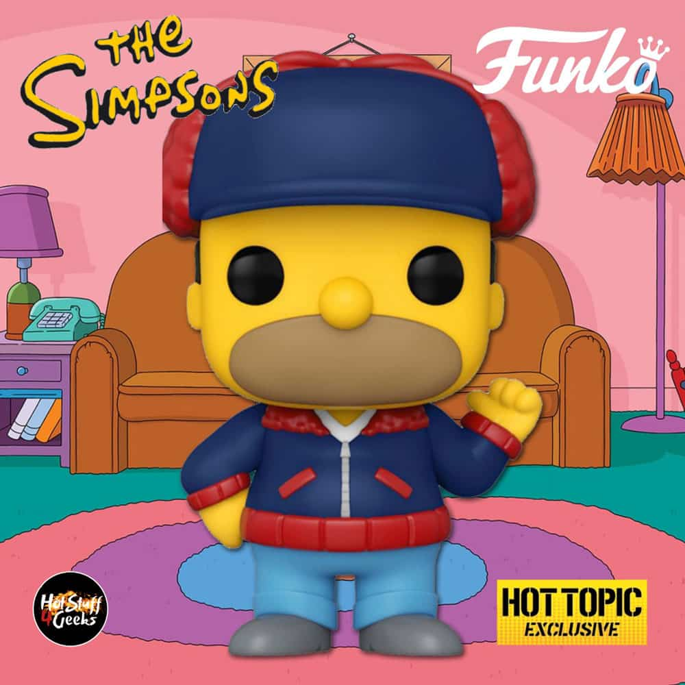 Funko Pop! Television: The Simpsons - Homer Simpson (Mr. Plow) Funko Pop! Vinyl Figure - Hot Topic Exclusive