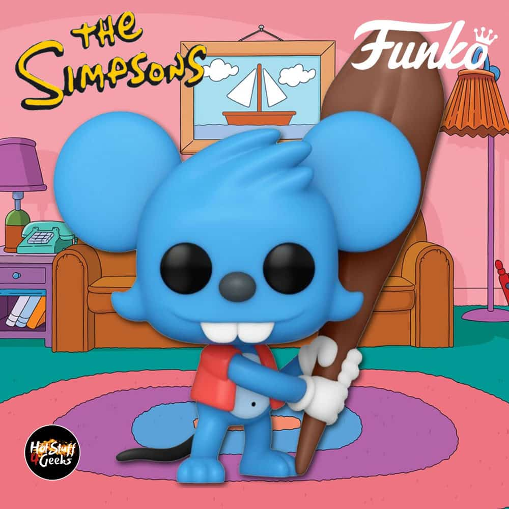 Funko Pop! Television: The Simpsons - Itchy Funko Pop! Vinyl Figure