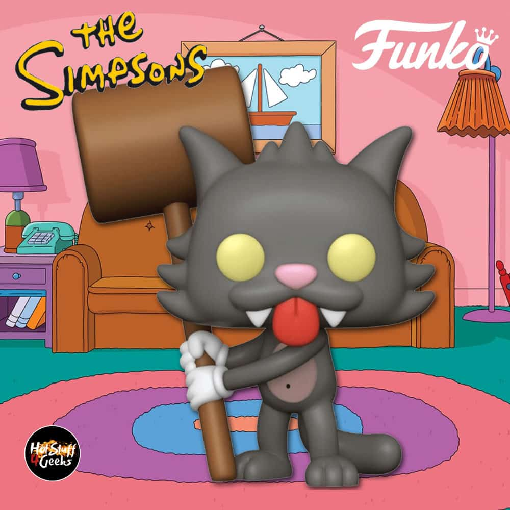 Funko Pop! Television: The Simpsons - Scratchy Funko Pop! Vinyl Figure