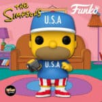 Funko Pop! Television: The Simpsons - USA Homer Funko Pop! Vinyl Figure