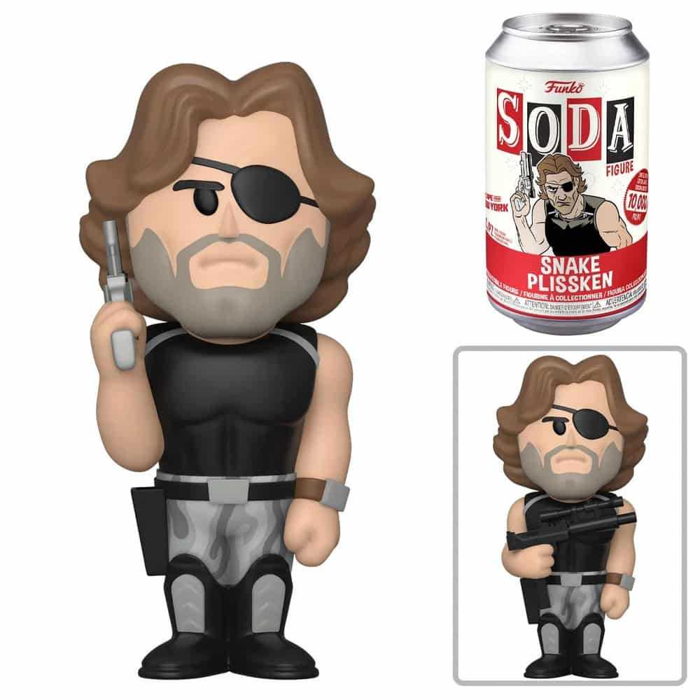 Funko Vinyl Soda: Escape from NY - Snake Plissken With Chase Variant Vinyl Soda Figure