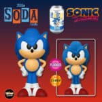 Funko Vinyl Soda: Sonic the Hedgehog - Sonic With Flocked Chase Variant Vinyl Soda Figure