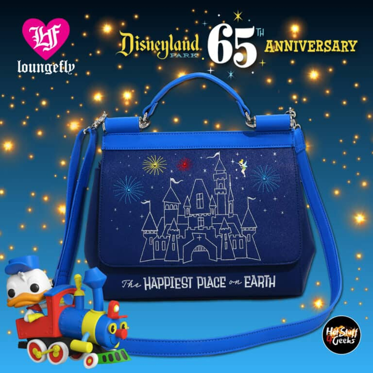 Loungefly Disney 65th Anniversary Happiest Place on Earth Handbag - BoxLunch Exclusive