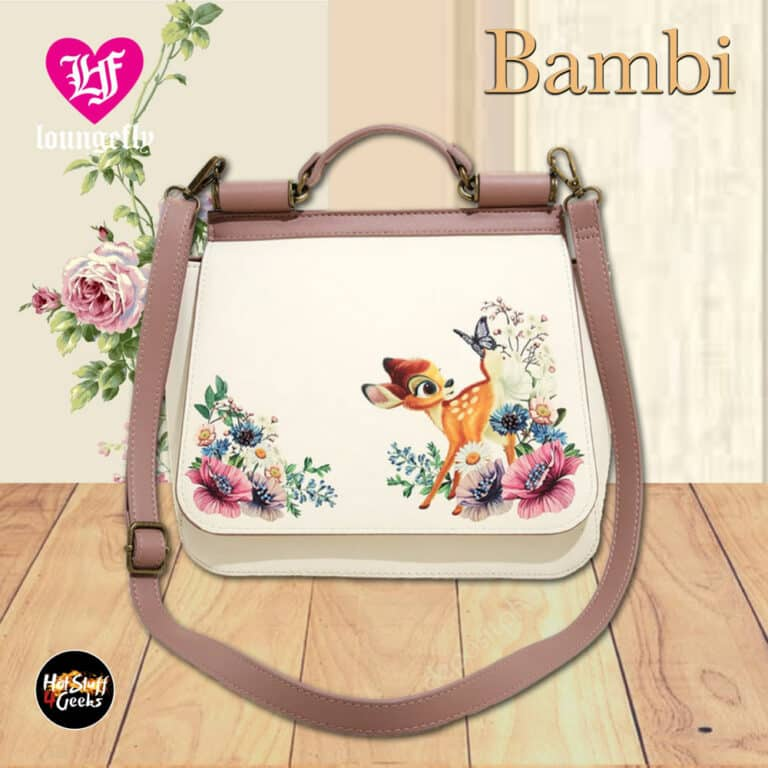 Loungefly Disney Bambi Floral Crossbody Bag - BoxLunch Exclusive