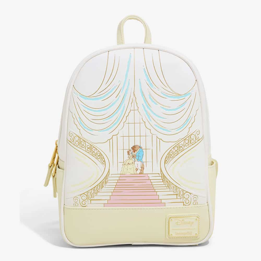 Loungefly Disney Beauty and the Beast Ballroom Sketch Mini Backpack - BoxLunch Exclusive