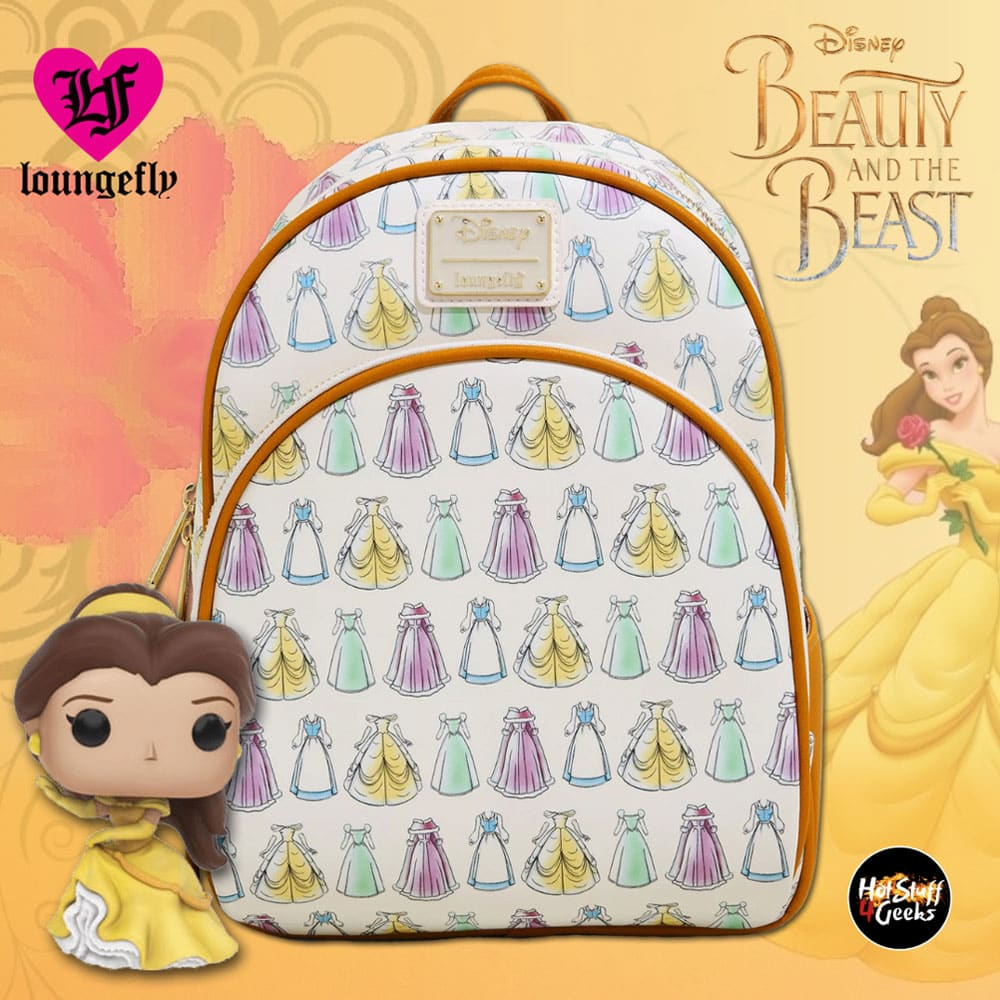 Loungefly Disney Beauty and the Beast Dresses Mini Backpack - BoxLunch Exclusive