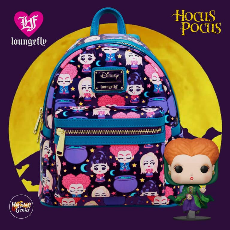 Loungefly Disney Hocus Pocus Chibi Mini Backpack - BoxLunch Exclusive