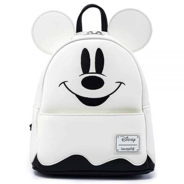 Loungefly Disney Mickey Mouse Ghost Glow-in-the-Dark Mini-Backpack
