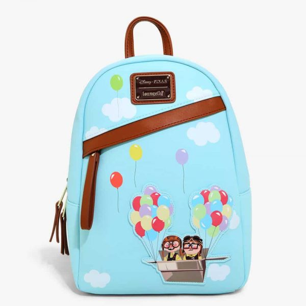 Loungefly Disney Pixar Up Balloon Chairs Mini Backpack - BoxLunch Exclusive
