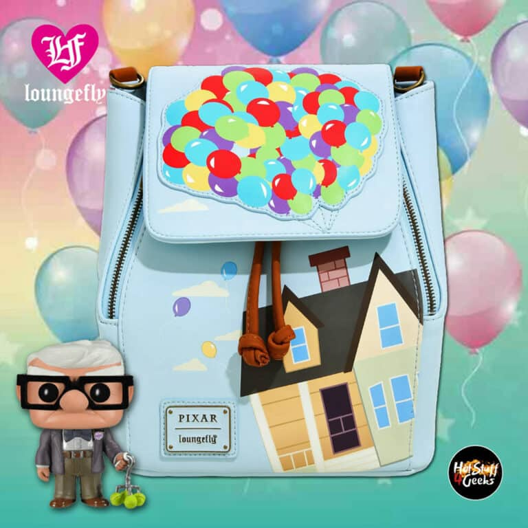 Loungefly Disney Pixar Up Balloon Flap Mini Backpack - BoxLunch Exclusive