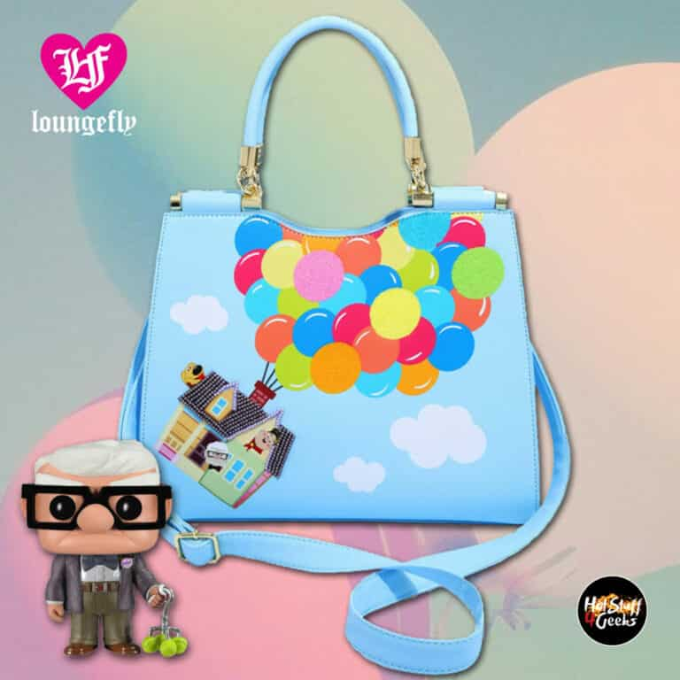 Loungefly Disney Pixar Up House Balloons Handbag - BoxLunch Exclusive