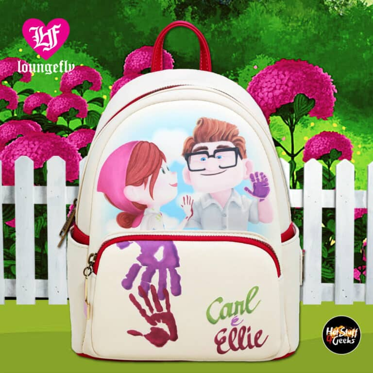 Loungefly Disney Pixar Up Mailbox Paint Mini Backpack - 2020 Fall Convention Exclusive