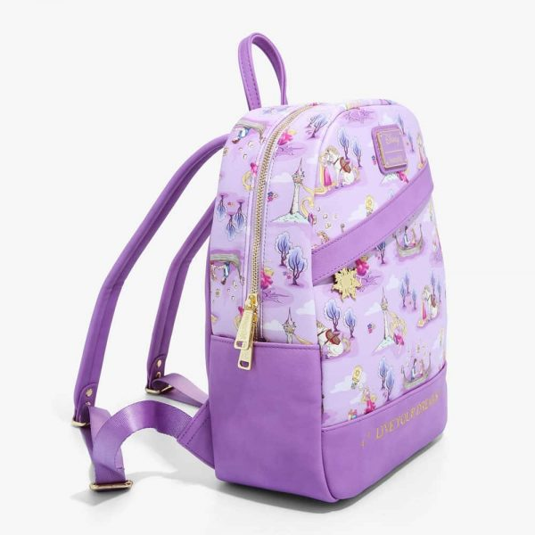 Loungefly Disney Tangled Live Your Dreams Mini Backpack - BoxLunch Exclusive