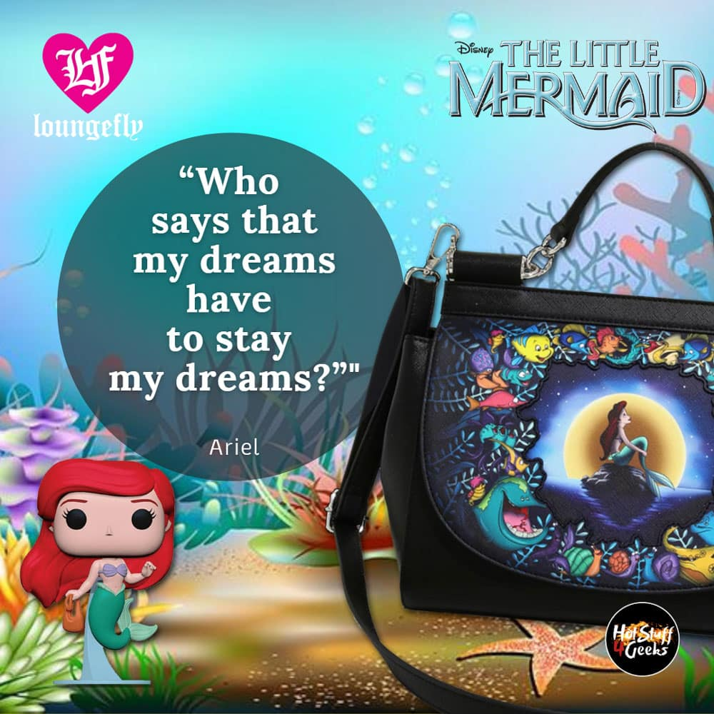Loungefly Disney The Little Mermaid Under the Sea Crossbody Bag - BoxLunch Exclusive