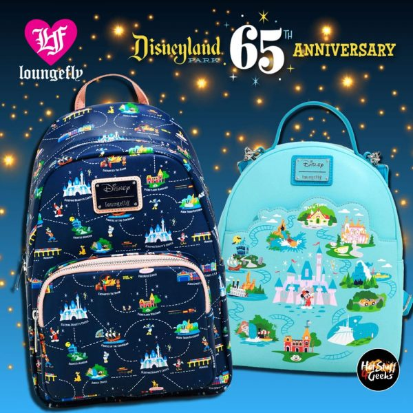 Loungefly Disneyland 65th Anniversary Convertible Mini Backpacks - BoxLunch Exclusive