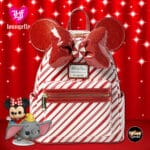 Loungefly Minnie Mouse Holiday Mini Backpack - Disney Parks Exclusive
