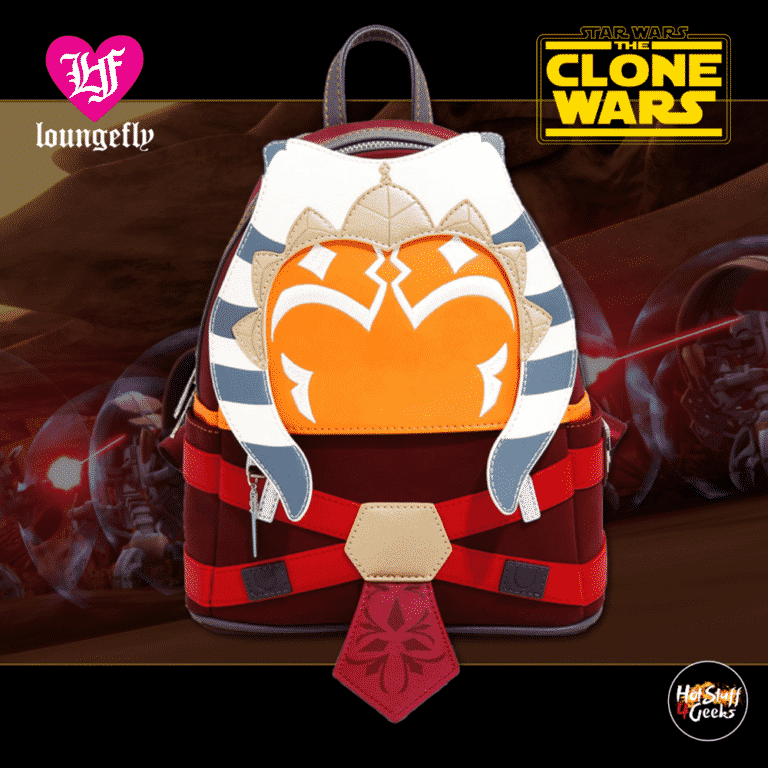 Loungefly Star Wars: The Clone Wars - Ahsoka Tano Figural Mini Backpack - BoxLunch Exclusiv