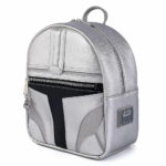 Loungefly Star Wars The Mandalorian: Mandalorian Helmet Mini Cosplay Backpack - Amazon Exclusive