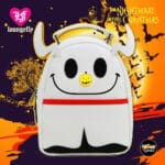 Loungefly The Nightmare Before Christmas Zero Glitter Light-Up Nose Mini Backpack - BoxLunch Exclusive