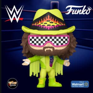 Funko POP! WWE: Macho Man Randy Savage (Green) Funko Pop! Vinyl Figure - Walmart Exclusive