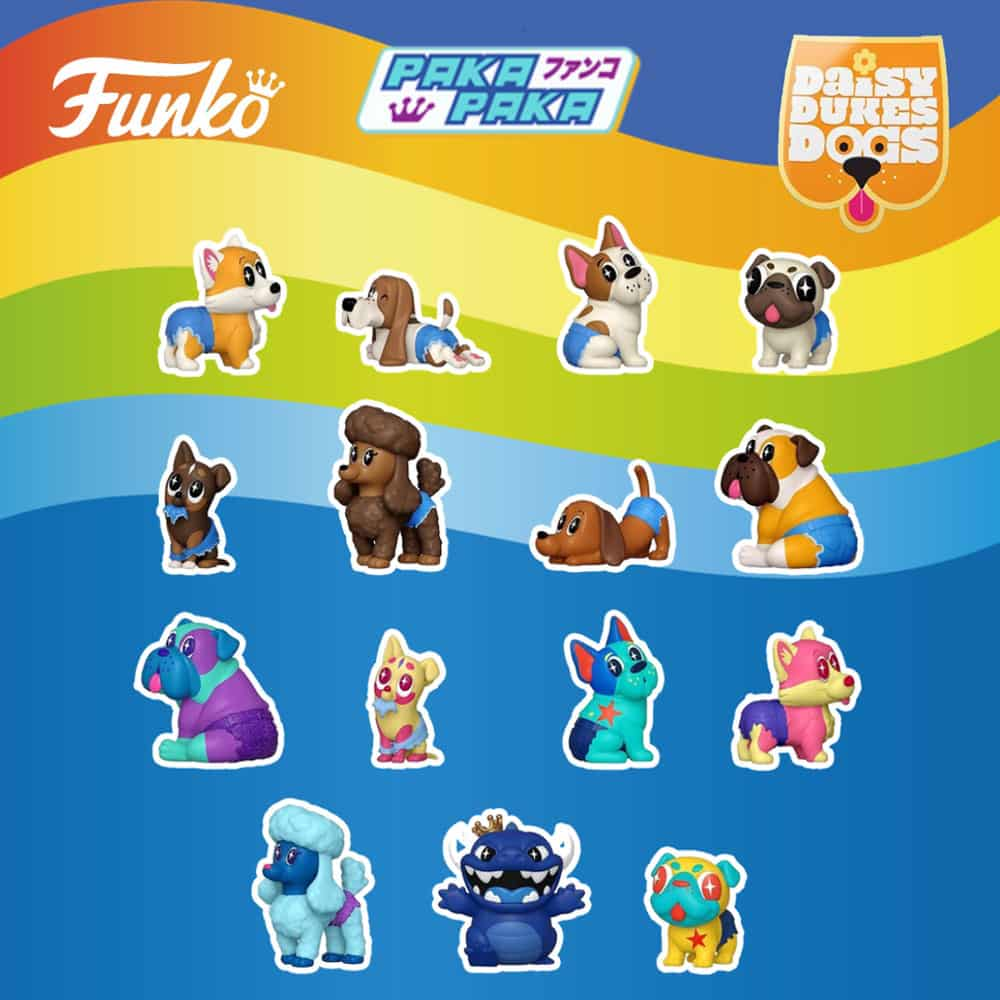 Funko Paka Paka Daisy Duke Dogs Mini-Figures