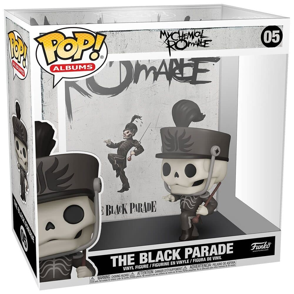 Funko Pop! Albums: My Chemical Romance – The Black Parade Funko Pop! Album Vinyl Figure with Case