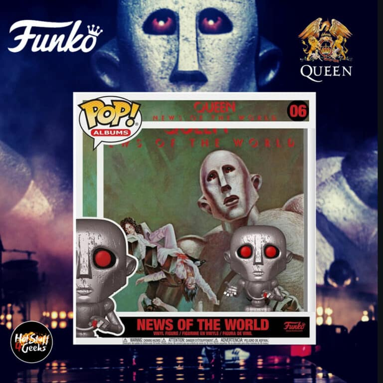 Funko Pop! Albums: Queen – News of the World Funko Pop! Album Vinyl Figure with Case