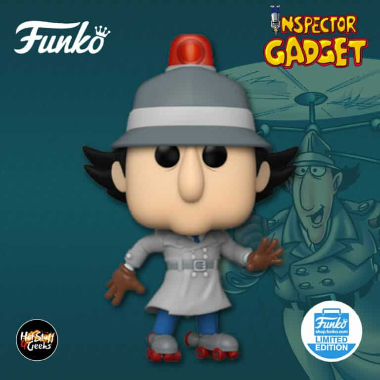Funko Pop! Animation: Inspector Gadget - Inspector Gadget with Skates Funko Pop! Vinyl Soda - Funko Shop Exclusive