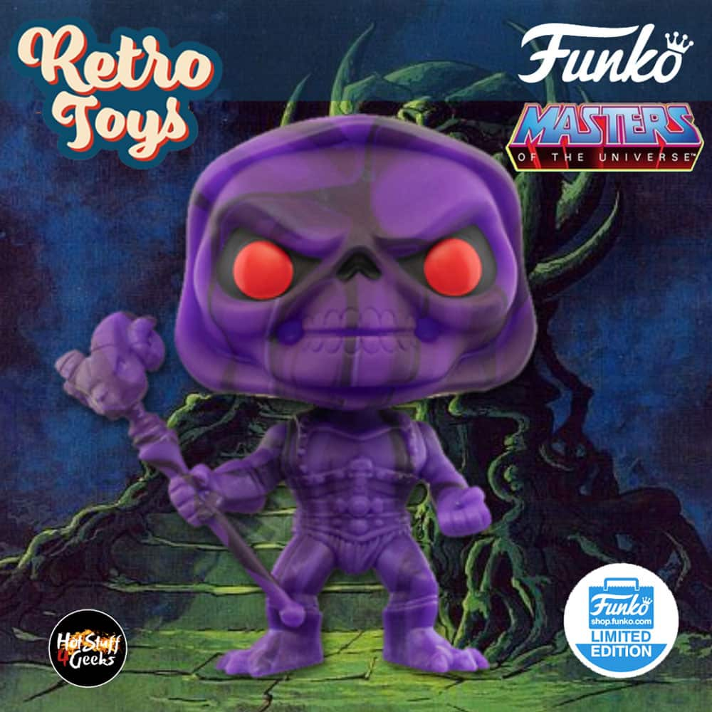 Funko Pop! Art Series: Masters of the Universe - Skeletor Art Series Funko Pop! Vinyl Figure - Funko Shop Exclusive