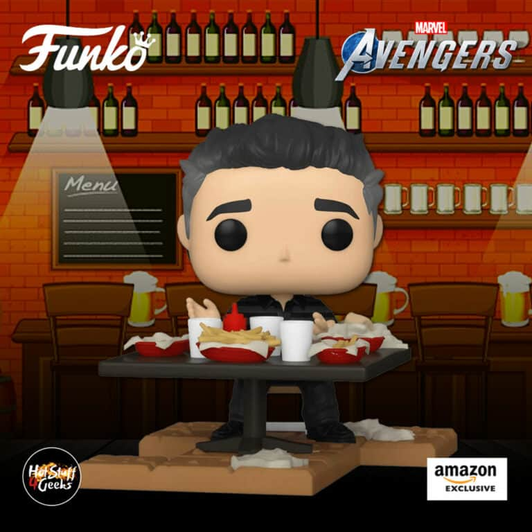 Funko Pop! Deluxe: Marvel Avengers - Victory Shawarma Series - Bruce Banner Funko Pop! Vinyl Figure - Amazon Exclusive, Figure 1 of 6