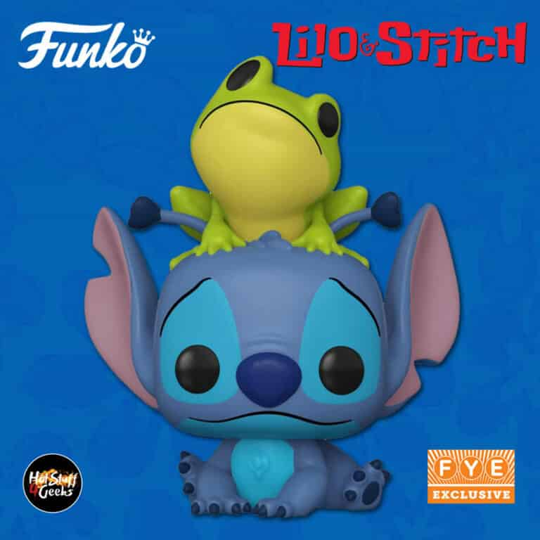 Funko Pop! Disney Lilo & Stitch - Stitch With Frog Funko Pop! Vinyl Figure - Fye Exclusive