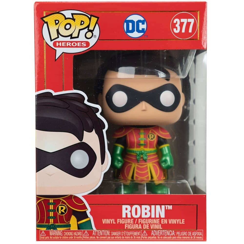 Funko Pop! Heroes: DC Comics - Imperial Palace Robin With Chase Variant Funko Pop! Vinyl Figure
