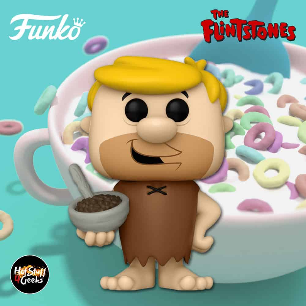 Funko Pop! Icons: The Filistones - Barney Rubble With Cocoa Pebbles Funko Pop! Vinyl Figure