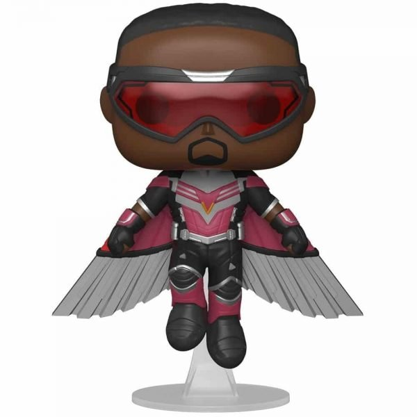 Funko Pop! Marvel Studios: The Falcon and Winter Soldier – Falcon (Flying) Funko Pop! Vinyl Figure