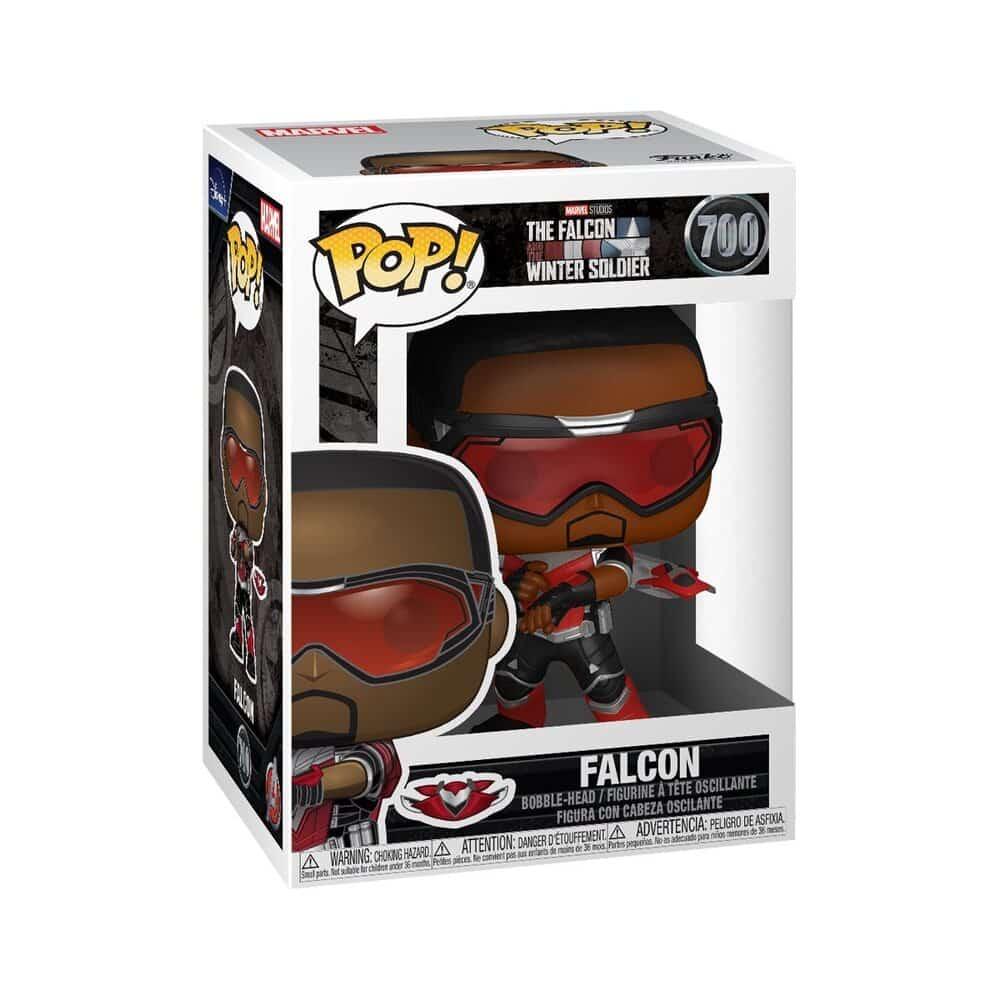 Funko Pop! Marvel Studios: The Falcon and Winter Soldier - Falcon Funko Pop! Vinyl Figure
