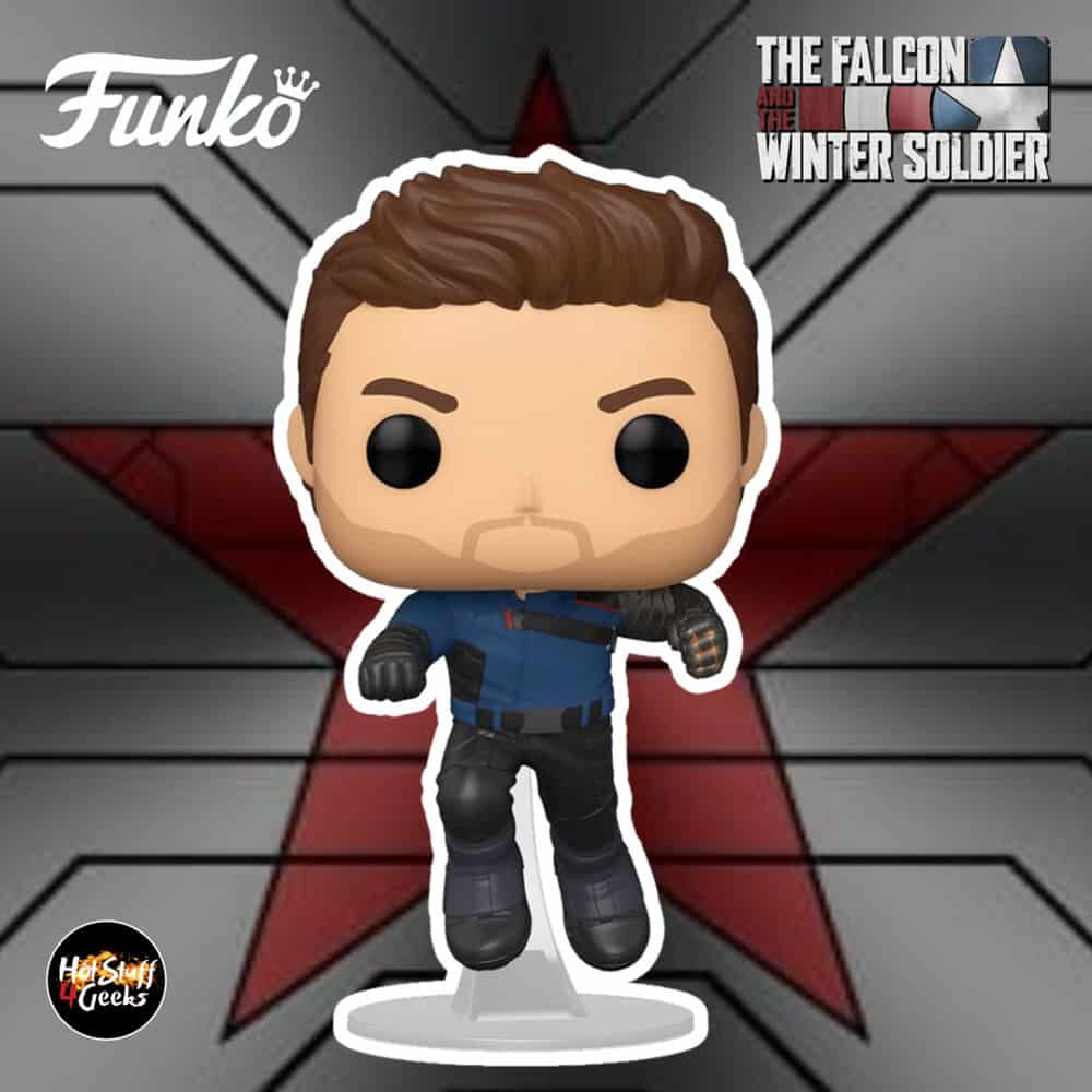 Funko Pop! Marvel Studios: The Falcon and Winter Soldier - Winter Soldier Funko Pop! Vinyl Figure