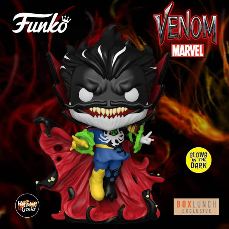 Funko Pop! Marvel Venom: Venomized Doctor Strange Glow-in-the-Dark (GITD) Funko Pop! Vinyl Figure - BoxLunch Exclusive