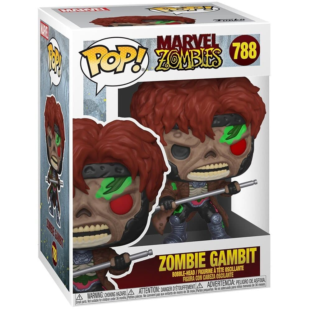 Funko Pop! Marvel Zombies Zombie Gambit Funko Pop! Vinyl Figure