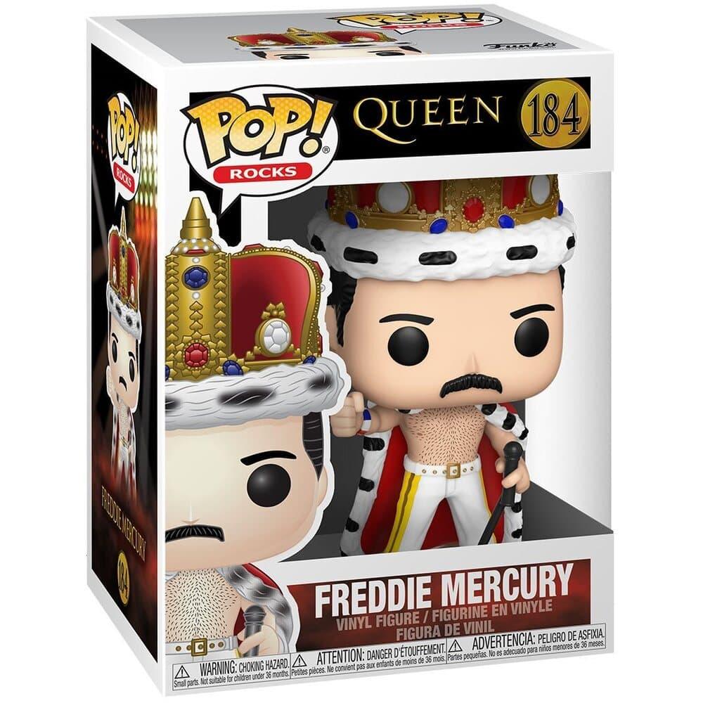 Funko Pop! Rocks: Queen - Freddie Mercury King Funko Pop! Vinyl Figure
