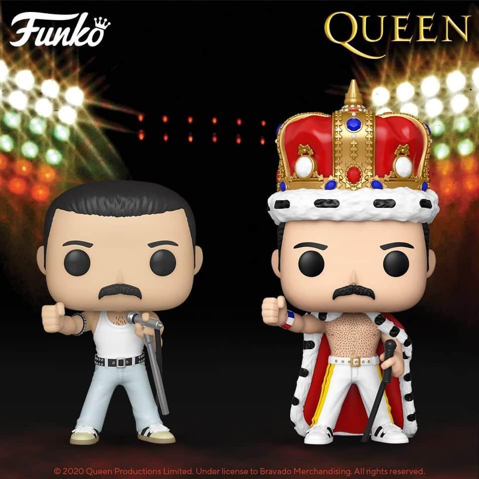 Funko Pop! Rocks: Queen - Freddie Mercury King and Radio Gaga Funko Pop! Vinyl Figures